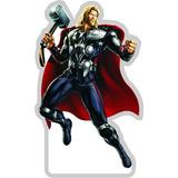 Kit 4 Vingadores Hulk Thor Lembrancinha Festa Mesa Bolo Mdf