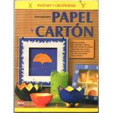 Manualidades Papel Y Carton / Mega Ediciones Usado Impecable