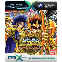Cavaleiros Do Zodiaco Bravos Soldados Cod Psn Ps3 Legendado