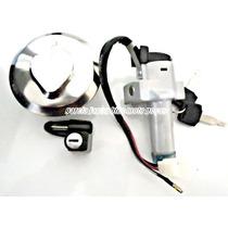 Kit Chave Contato Tampa Trava Xl250r Xlx 250r 3 Peças