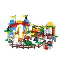 Ladrillos Preescolar Zoo De Construcción