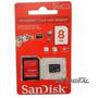Memoria Sandisk 8 Gb Micro Sd Originales Original Selladas