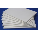 Placa Foam Board Papel Espuma 40x50 Cm Branco