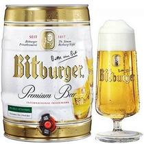 Barril Cerveza Bitburger Alemana X 5 Litros En Hudson Beraza