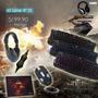 Kit Gamer N°03 Teclado/mouse/audifono/ Regalo Pad Mouse