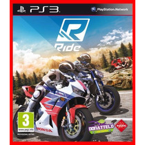 Ride Ps3 Código Psn Play 3 Corrida Motos Promocao!!