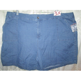 Shorts Plus Tallas 3 X Americanos Extragrandes-para Gorditas
