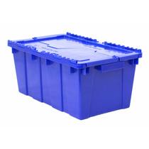 1017 / Caja De Plástico / Bisagras / Medidas (cm) 50-30-21 H