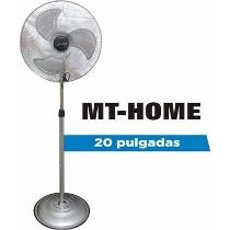 Ventilador De Pie Mt 20 3 Vel/ 3 Aspas Metalicas