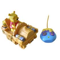 Carro Carrinho De Controle Remoto Ursinho Pooh Disney