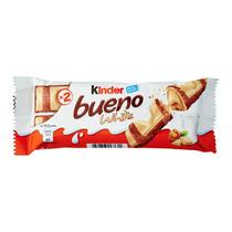 Chocolate Kinder Bueno Blanco / White Paquete Con 2 Piezas!