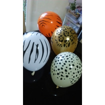 Globo Latex Animal Print Jungle 11 Marca Qualatex
