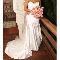 Vestido De Noiva Modelo Patrícia Nascimento Luxo! Exclusivo!
