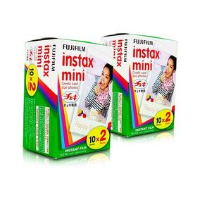 Filme Fuji Instax Mini Fujifilm Kit Com 40 Fotos