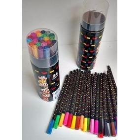 Material Escolar Canetinhas Colorir Turma Da Monica 24cores