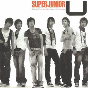 K-pop Super Junior Single Album U