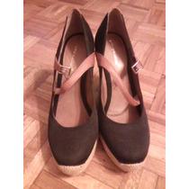 Hermoso Par De Zapatos Pasqualini, Como Nuevos!!!!!!!!!!!!