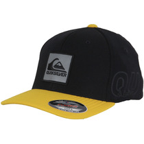 Boné Quiksilver Emb On Reflect - Amarelo/preto