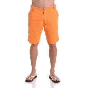 Bermuda Masculina Coloridas De Sarja Caimento Perfeito Slim