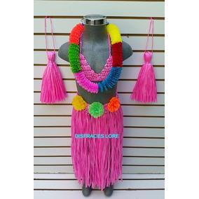 Disfraz Hawaiana Disfraces Hawaiano Baile Primavera Niñas M1