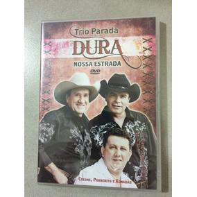 Dvd Trio Parada Dura / Nossa Estrada/lacre De Fábrica,origin