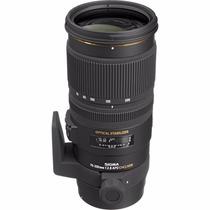 Lente Sigma 70-200mm F2.8 Ex Dg Apo Os Hsm Canon / Nikon