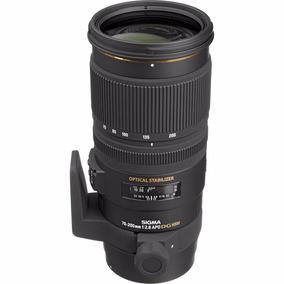 Lente Sigma 70-200mm F2.8 Ex Dg Apo Os Hsm Nikon