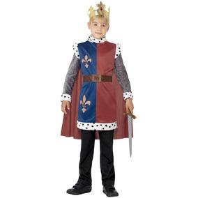 Disfraz Smiffy Rey Arturo Medieval P/niños Talla M
