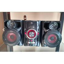 Mini Componente O Equipo De Sonido Lg Con Control Remoto