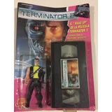 Muñeco Terminator 2 En Blister Cerrado Con Vhs Jretro