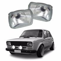 Farol Fiat 147 1976 1977 1978 1979 1980 Lente Vidro #1954