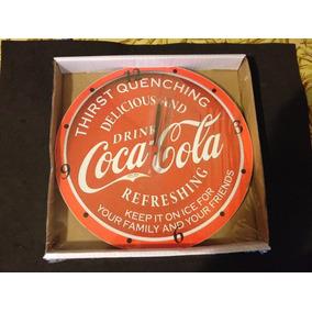 Lindo Relogio De Parede Coca-cola - Na Caixa (3)