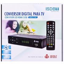 Conversor Tv Digital Hdmi Usb Gravador Hdtv Itv200