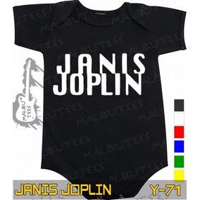 Body Janis Joplin Preto Rock Metallica Frete Gratis
