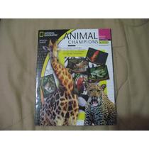2004 Album Lleno Animal Champions National Geographic Panini