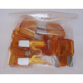 Fusível De Lâmina Max 40 Amperes - Pacote Com 10 Peças