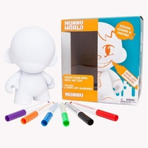 Kidrobot Munny Reusable Vinyl Con Plumones Pintarron Art Toy