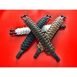 Paracord Bracelet Con Grillete Y Regulador Acero Usa Rothco