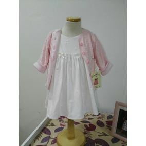 Vestidos De Corderoy Y Camperita Para Nena