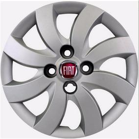 Jogo De Calotas Aro 14 Novo Fiat Palio Attractive 2013