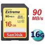 Cartão Memória Sandisk Sdhc Class10 90mb/s 16gb Sd Dslr Sony