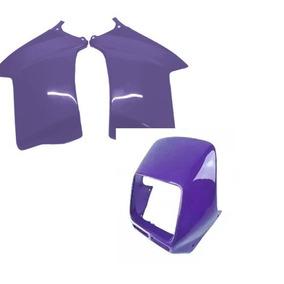 Kit Carenagem Tanque E Do Farol Nx200 99
