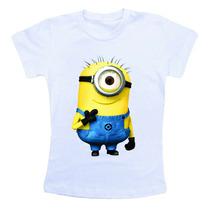 Camiseta Infantil Personalizado Minions Ref200