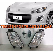 Par Farol Milha Peugeot 308 Ano 2011 2012 2013 2014 Dir Esq