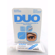 Cola Duo Transparente P/ Cílios Postiços 9g A Prova D.agua