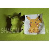 *cortador De Galletas Pikachu Pokemon Go Royal Icing Fondant