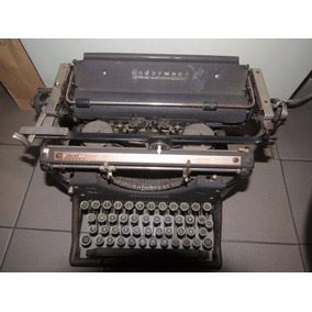 Maquina De Escribir Underwood. Made In Usa