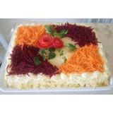 Kit Com 01 Torta Salgada Para 30 Pessoas E 100 Mini Pizzas