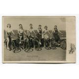 Foto Mujeres En Bicicleta Mar Del Plata Buenos Aires 1945