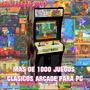 Pack Juegos Clasicos Arcade Mame Coleccion + 1000 Pc